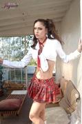 college girl, individual model, uniform