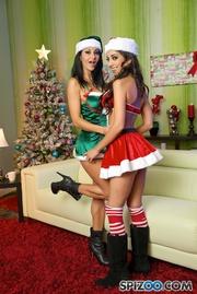 santa fucks two naughty