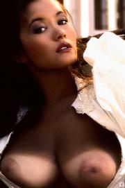 young brunette honey lingerie