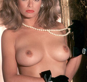 Vintage Playboy model in sexy lingerie is so damn hot