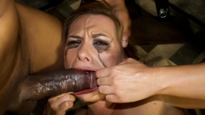 Asian slut and blonde whore get poked wi - XXX Dessert - Picture 5