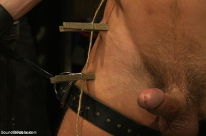 Young gay dude gets banged by many horny - XXX Dessert - Picture 7