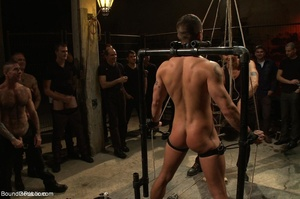 Young gay dude gets banged by many horny - XXX Dessert - Picture 8