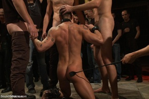 Young gay dude gets banged by many horny - XXX Dessert - Picture 10