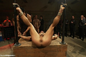 Young gay dude gets banged by many horny - XXX Dessert - Picture 14