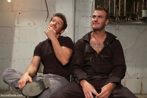 Two horny prisoners are ready for some h - XXX Dessert - Picture 1