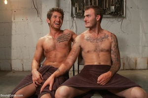 Two horny prisoners are ready for some h - XXX Dessert - Picture 18