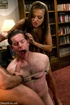 Woman dominates her man in an unconventional therapy session and makes