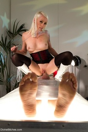 submissive male wrapped plastic