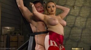 Busty Mistress makes a man acquiesce wit - XXX Dessert - Picture 5