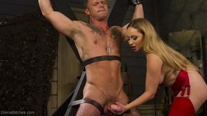 Busty Mistress makes a man acquiesce wit - XXX Dessert - Picture 8