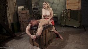 Busty Mistress makes a man acquiesce wit - XXX Dessert - Picture 18