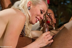 Blindfolded and bound male enjoys a stel - XXX Dessert - Picture 10
