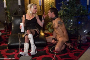 Babe in white boots and black fishnets f - XXX Dessert - Picture 8
