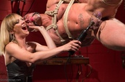 suspended stud struggles with