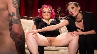 blonde, chubby, femdom, mistress