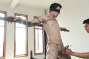 roped and suspended gay