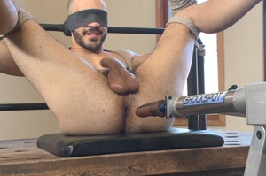 Bald dude gets tied up and drilled by hi - XXX Dessert - Picture 15