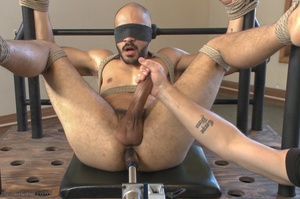 Bald dude gets tied up and drilled by hi - XXX Dessert - Picture 16