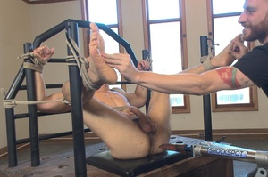 Bald dude gets tied up and drilled by hi - XXX Dessert - Picture 18