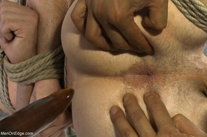 Guy in blindfold and in karada style bon - XXX Dessert - Picture 7