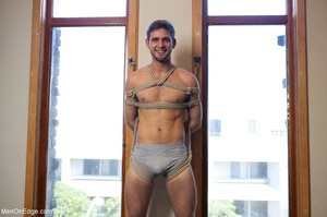 Bearded stud gets high while getting his - XXX Dessert - Picture 15