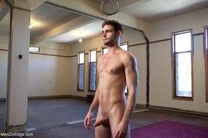 Bearded stud gets high while getting his - XXX Dessert - Picture 17