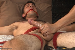 Red bearded master teasing blindfolded a - XXX Dessert - Picture 17