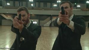 Two armed agents torturing their arreste - XXX Dessert - Picture 2