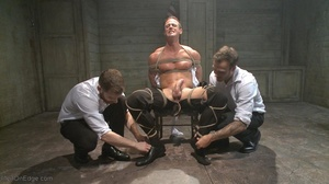 Two armed agents torturing their arreste - XXX Dessert - Picture 6