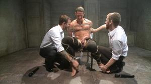 Two armed agents torturing their arreste - XXX Dessert - Picture 9