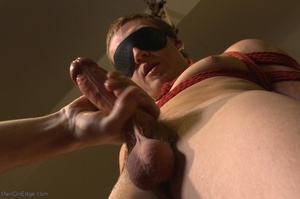 Sexy stud gets his popper dildoed in var - XXX Dessert - Picture 1
