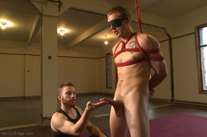 Sexy stud gets his popper dildoed in var - XXX Dessert - Picture 2