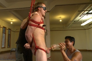 Sexy stud gets his popper dildoed in var - XXX Dessert - Picture 4