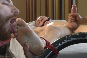 Sexy stud gets his popper dildoed in var - XXX Dessert - Picture 13