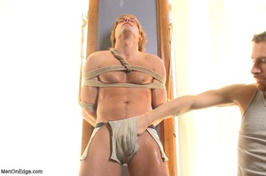 Muscular fair-haired stud gets his poope - XXX Dessert - Picture 3