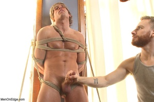 Muscular fair-haired stud gets his poope - XXX Dessert - Picture 5