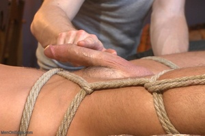 Muscular fair-haired stud gets his poope - XXX Dessert - Picture 12