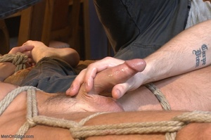 Muscular fair-haired stud gets his poope - XXX Dessert - Picture 14