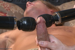 Muscular fair-haired stud gets his poope - XXX Dessert - Picture 15