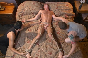 Muscular fair-haired stud gets his poope - XXX Dessert - Picture 18