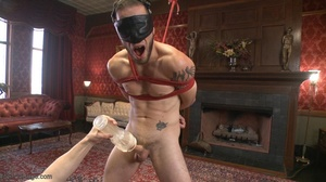 Red bearded lad gets high sucking bound  - XXX Dessert - Picture 7