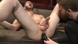 Red bearded lad gets high sucking bound  - XXX Dessert - Picture 14