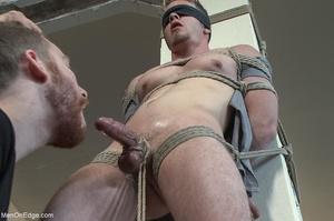 Good looking dude gets tied up and used  - XXX Dessert - Picture 4