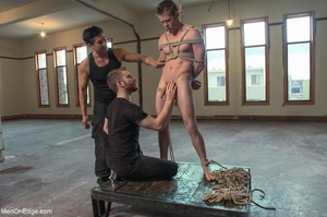 Good looking dude gets tied up and used  - XXX Dessert - Picture 9
