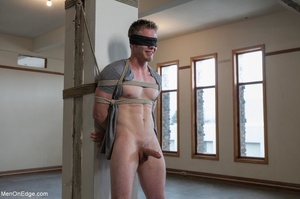 Good looking dude gets tied up and used  - XXX Dessert - Picture 17