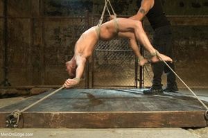 Good looking gay dude gets tied up and u - XXX Dessert - Picture 8