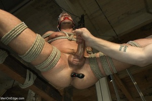 Good looking gay dude gets tied up and u - XXX Dessert - Picture 15