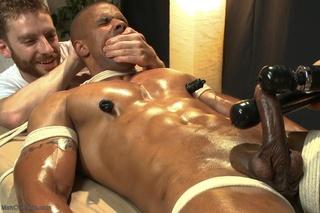 muscled black stud nasty