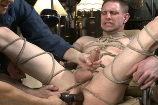 young dude tied ropes